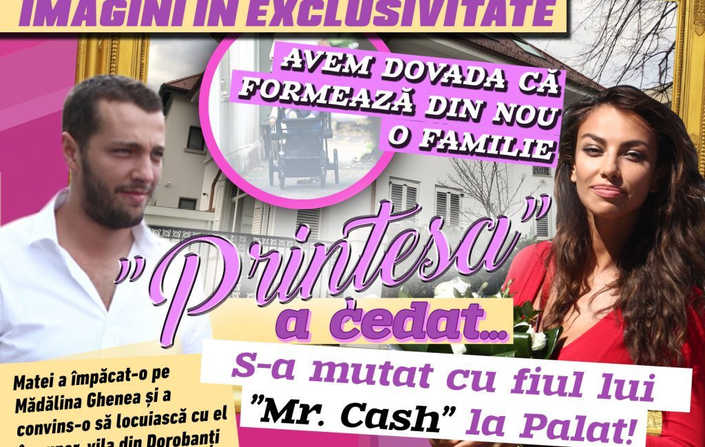 "Mădălina Ghenea gave up … She moved with his son ""Mr. Cash ""at the Palace!"