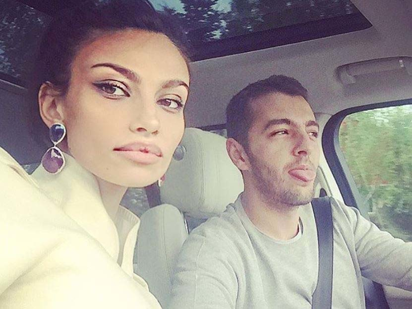 Mădălina Ghenea spends! Today is Matei Stratan's day. How was their little girl photographed