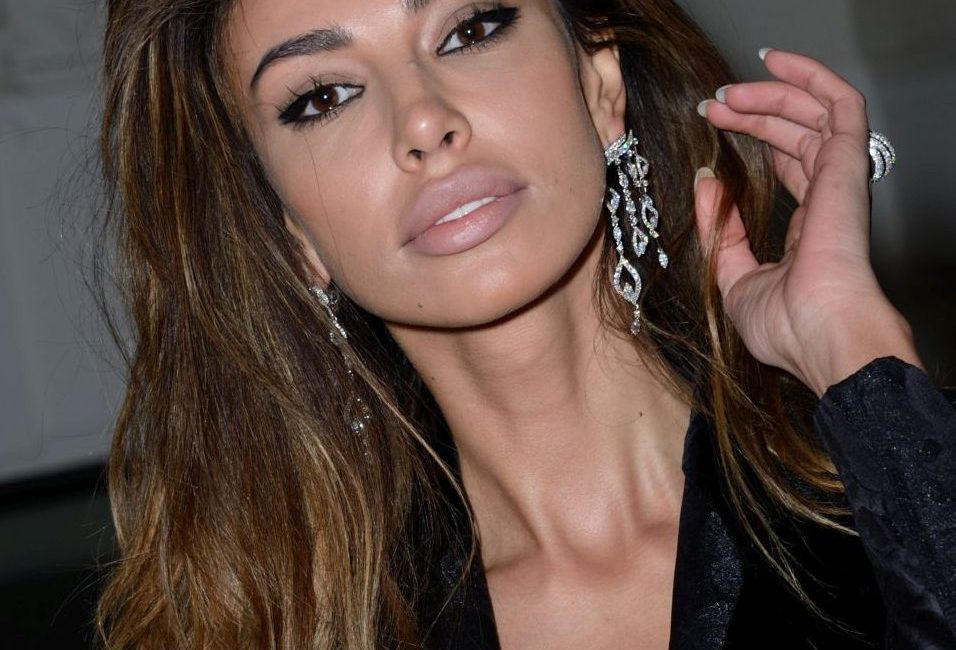 Mădălina Ghenea's hold on a fashion show