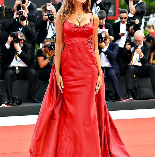 Madalina Ghenea, enchantment on the red carpet