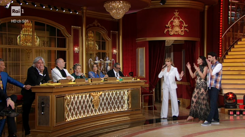 Dancing with the stars, a new dispute between the couple Todaro-De Girolamo and the jury