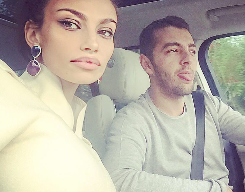 Mădălina Ghenea and Matei Stratan, a scandal in the street. He shaken her, and she ran away. See pictures! | Flash News, News, Celebrities and Events