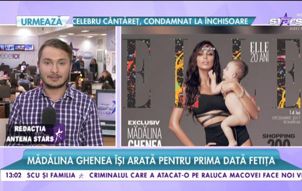 Mădălina Ghenea shows her baby for the first time. Matthew Stratan chose Charlotte