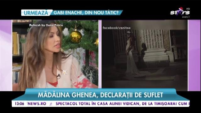 Mădălina Ghenea, soul statements. The model talks about love for children and family