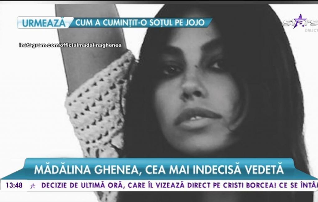 Mădălina Ghenea, the most indecisive star. He does what he does, and the thought flies to a famous actor – Antena 1