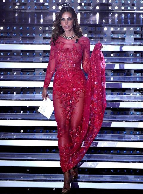 Madalina Ghenea in Sanremo, all the colors on stage – Specials