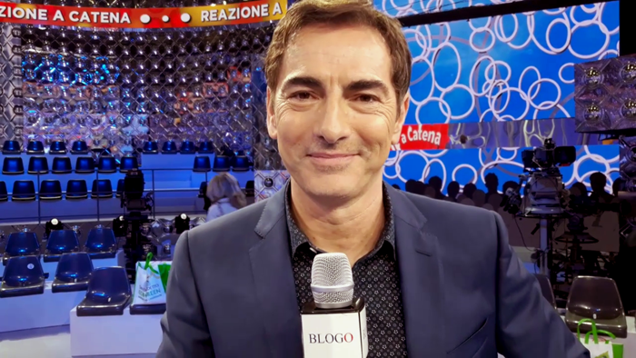 Marco Liorni between Chain Reaction and Italy Yes: Blogo interview (Video)