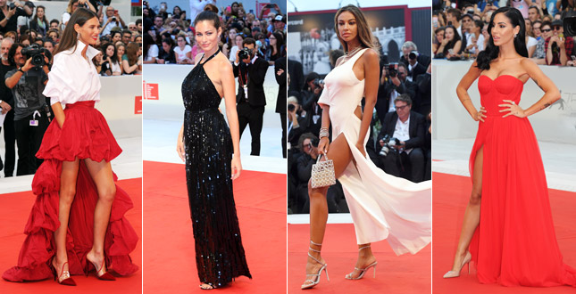 Marica Pellegrinelli, Bianca Balti, Madalina Ghenea and many others: in Venice the red carpet is to scream
