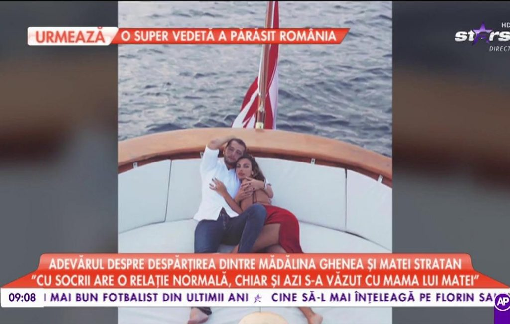 "The truth about the separation between Mădălina Ghenea and Matei Stratan: ""Mădălina now lives with her mother"" – www.a1.ro"