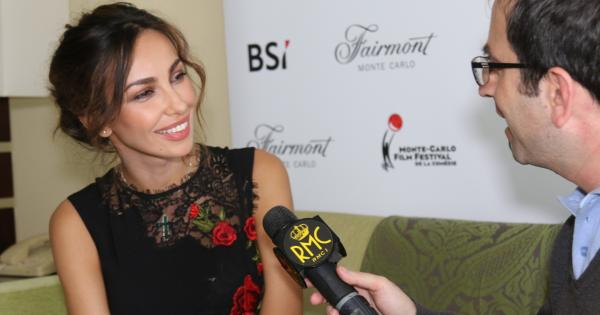 Also the splendid Madalina Ghenea at the Monte Carlo Film festival de La Comédie – Photo 1 of 4