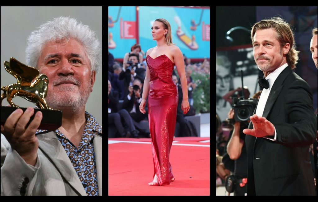 Venice 76, Johansson and Pitt set fire to the Lido, Almodovar moves