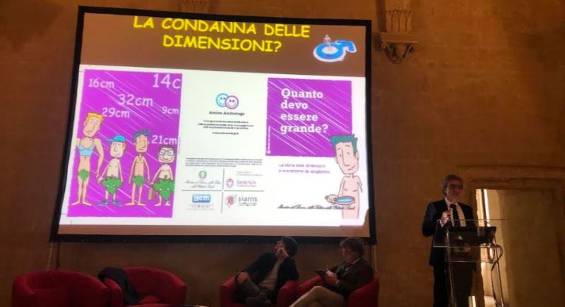 Lecce, Dysmorphophobia and false myths about sex: misconceptions about one's body