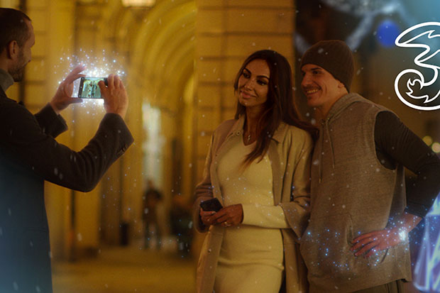 airing the Christmas spot with the couple Chiellini-Ghenea