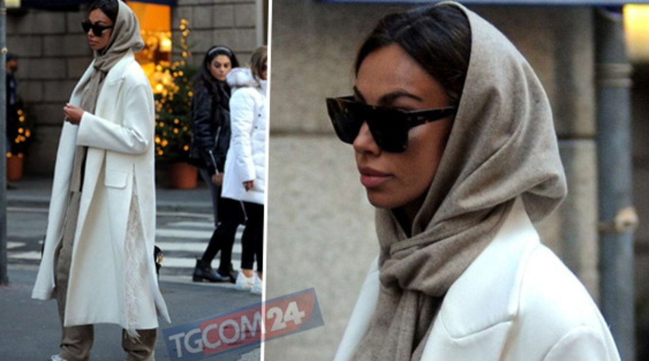 "For Madalina Ghenea ""solitary"" shopping in Milan"