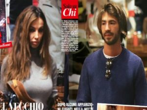 Madalina Ghenea and Leonardo Del Vecchio paparazzi in St. Moritz. The two are engaged?