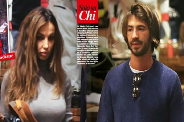 Madalina Ghenea with Leonardo Del Vecchio, 24 year old son of the richest man in Italy