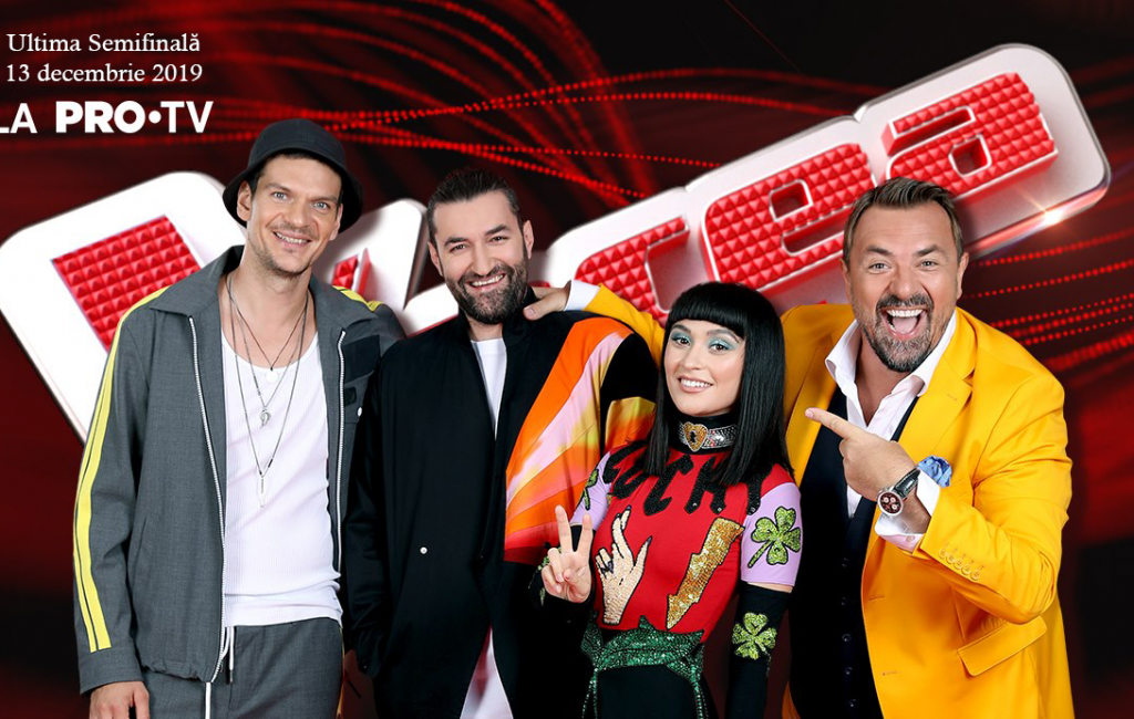 Voice of Romania Live Video on Pro TV – Watch the show on Friday, December 13, 2019
