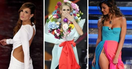 Sanremo Festival: the unforgettable looks chosen by the protagonists in the last 10 years