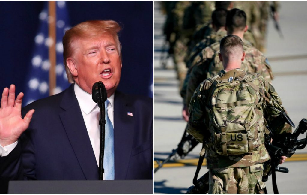 US announces they will not leave Iraq. What are Donald Trump's plans?