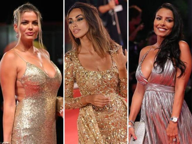 Venice 76, Natalia, Madalina and the others: the red carpet lights up with the glow of gold