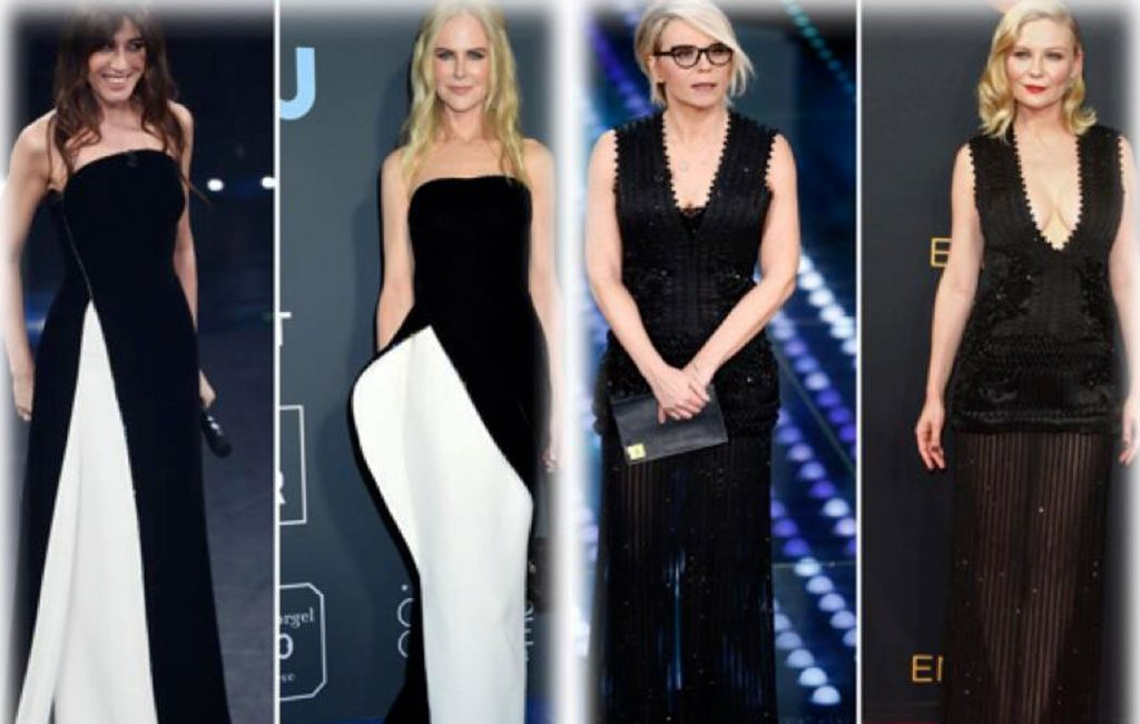 Dressed in red carpet, better the looks of Sanremo or those of Hollywood? PHOTO – Sky Tg24