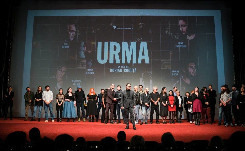 "The film ""Urma"", screened in the presence of the director, at Cinema Arta"