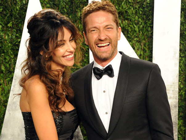 Gerard Butler and Mădălina Ghenea, together visiting Romania