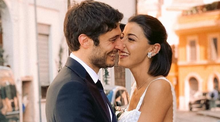 Lino Guanciale got married in Rome