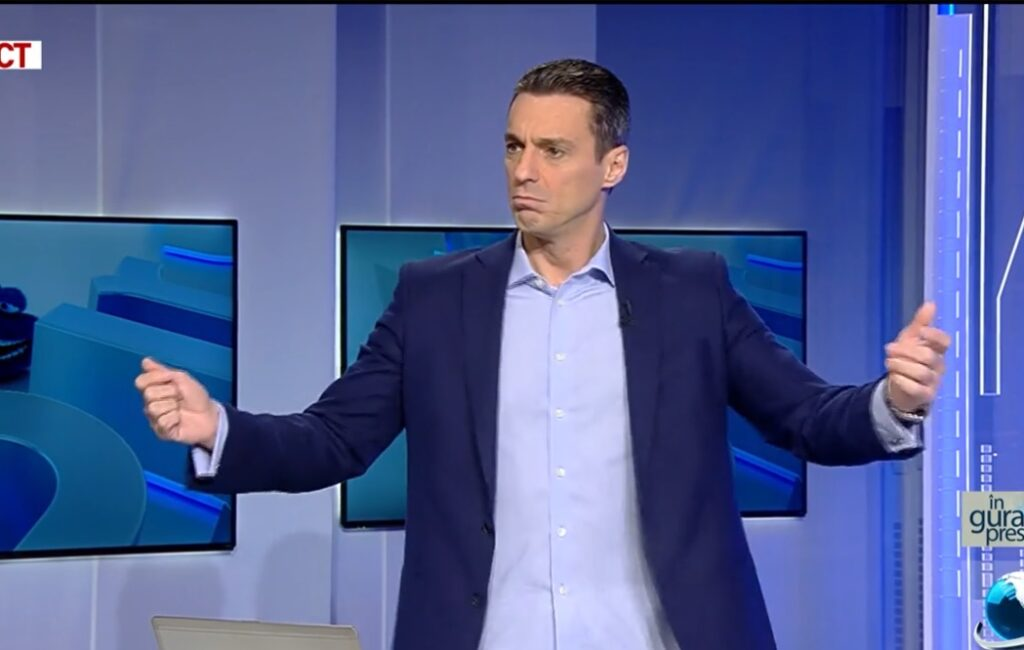 "Mircea Badea abolished them!  The presenter's unprecedented reaction: ""He's very Soviet"""